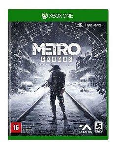 Jogo XBOX ONE Usado Metro Exodus