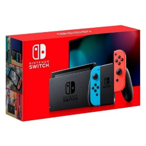 Console Novo New Nintendo Switch Neon 32GB