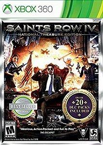 Jogo XBOX 360 Usado Saints Row IV National Treasure Edition