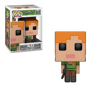 Pop Funko 317 Alex Minecraft