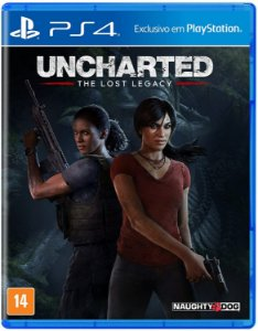 Jogo PS4 Usado Uncharted The Lost Legacy