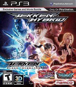 Jogo PS3 Usado Tekken Hybrid