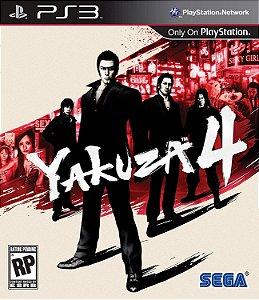 Jogo PS3 Usado Yakuza 4