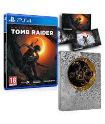 Jogo PS4 Usado Shadow of the Tomb Raider Steelbook