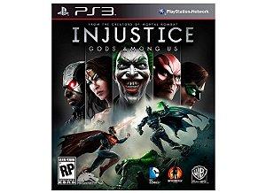 Jogo PS3 Usado Injustice: Gods Among Us