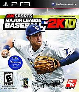 Jogo PS3 Usado Major League Baseball 2K10