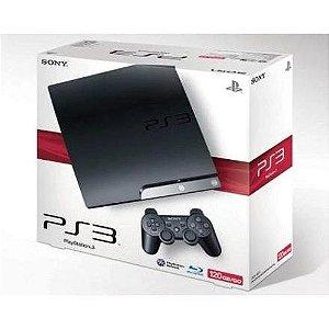 Console Usado PS3 Slim 120GB
