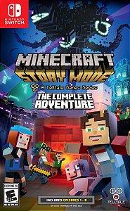 Jogo Nintendo Switch Usado Minecraft: Story Mode - The Complete Adventure
