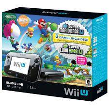 Console Usado Wii U Mario & Luigi Deluxe Set