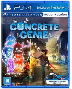 Jogo PS4 Novo Concrete Genie