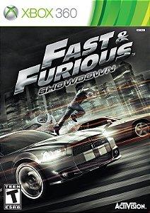 Jogo XBOX 360 Usado Fast & Furious Showdown