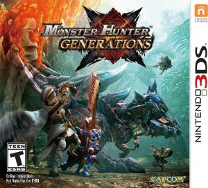 Jogo 3DS Usado Monster Hunter Generations