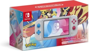 Console Usado Nintendo Switch Lite Zacian and Zamazenta Edition