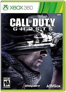 Jogo XBOX 360 Usado Call of Duty: Ghosts