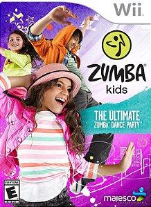 Jogo Wii Novo Zumba Kids
