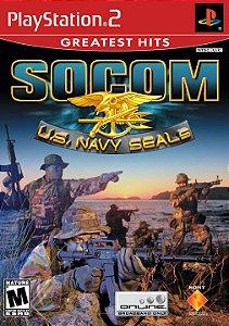 Jogo PS2 Usado SOCOM U.S. Navy SEALs