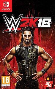 Jogo Switch Novo WWE 2K18
