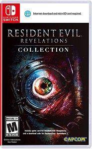 Jogo Switch Usado Resident Evil Revelations Collection