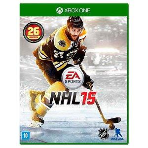 Jogo XBOX ONE Usado NHL 15