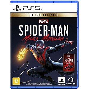 Jogo PS5 Usado Spider-Man: Miles Morales Ultimate Edition