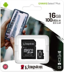 SD Card Novo Kingston Canvas Select Plus 16GB