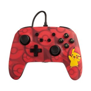 Controle Switch Novo PowerA Pikachu