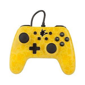 Controle Switch Novo PowerA Pikachu Silhouette