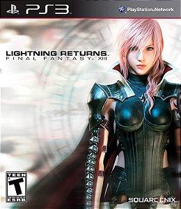 Jogo PS3 Usado Final Fantasy XIII Lightning Returns