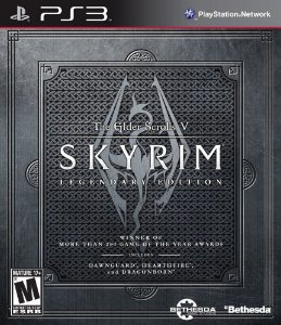 Jogo PS3 Usado The Elder Scrolls V: Skyrim Legendary Edition