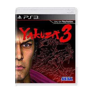 Jogo PS3 Usado Yakuza 3