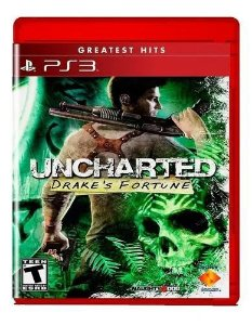 Jogo PS3 Usado Uncharted Drake's Fortune Greatest Hits