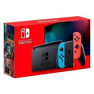 Console Usado New Nintendo Switch Neon 32GB