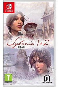 Jogo Switch Novo Syberia 1 & 2
