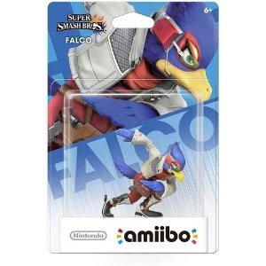 Amiibo Novo Falco Super Smash Bros