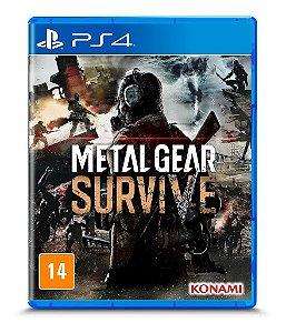 Jogo PS4 Novo Metal Gear Survive