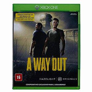 Jogo XBOX ONE Usado A Way Out