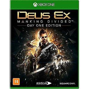 Jogo XBOX ONE Usado Deus Ex: Mankind Divided