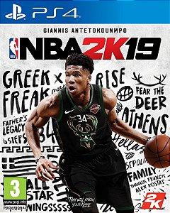 Jogo PS4 Usado NBA 2K19