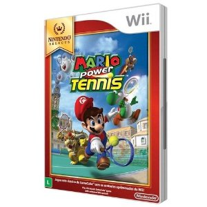 Jogo Wii Novo Mario Power Tennis (Nintendo Selects)