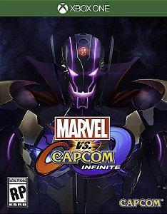 Jogo XBOX ONE Novo Marvel vs Capcom Infinite (Steelbook)