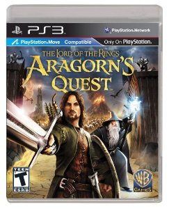 Jogo PS3 Usado The Lord of The Rings Aragorn Quest