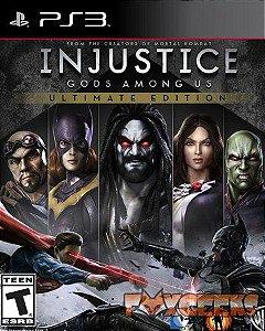 Jogo PS3 Usado Injustice Gods Among Us Ultimate Edition