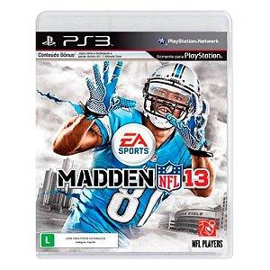 Jogo PS3 Usado Madden NFL 13