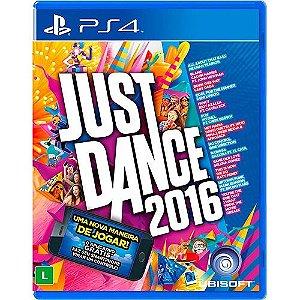 Jogo PS4 Usado Just Dance 2016