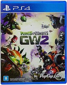 Jogo PS4 Usado Plants vs. Zombies GW 2