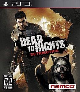 Jogo PS3 Usado Dead to Rights Retribution