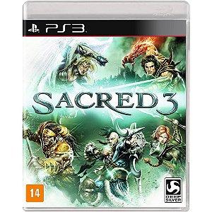 Jogo PS3 Usado Sacred 3