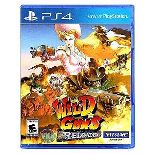 Jogo PS4 Usado Wild Guns Reloaded
