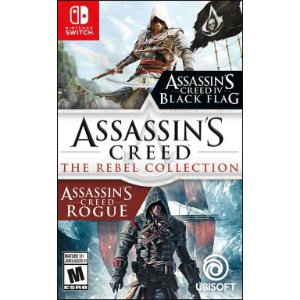 Jogo Switch Novo Assassin's Creed The Rebel Collection