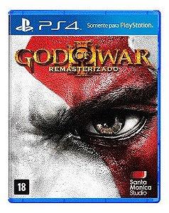 Jogo PS4 Novo God of War 3 Remasterizado (Capa Azul)